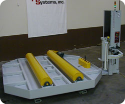 Vertical Cocoon Wrapper 6110 Fully Automatic
