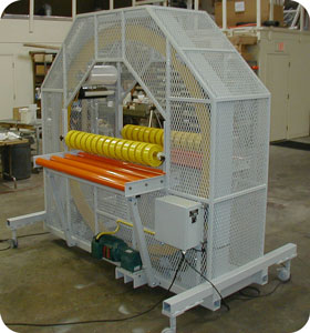 Horizontal Stretch Wrappers 800 Series PM (Powered Manual)